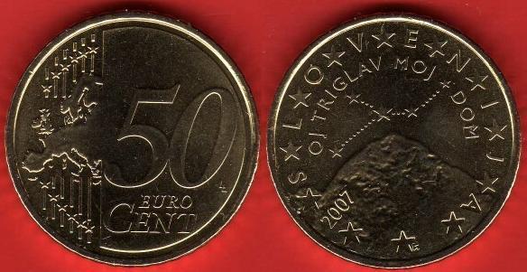 Slovenia 50 cent (2007 - ....)