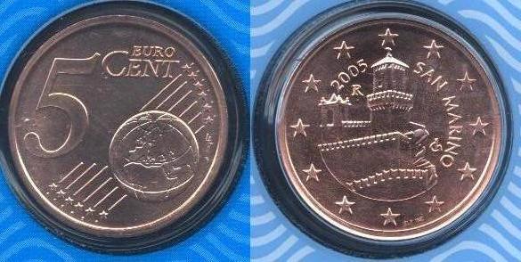 San Marino 5 cent