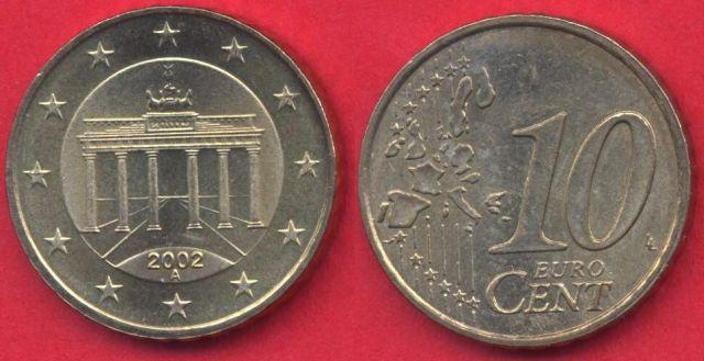 Germania 10 cent 2002 - 2006