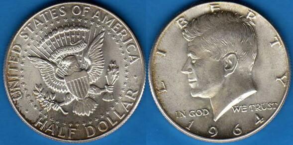 Mezzo Dollaro 1964