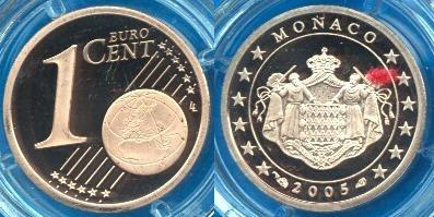 Principato di Monaco 1 cent
