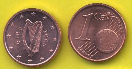 Irlanda 1 cent 2002 - ....