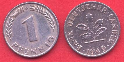 1 Pfennig Germania