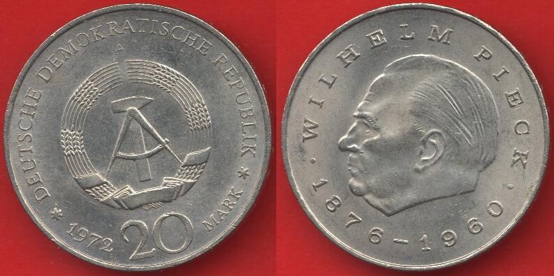 20 marchi DDR 1972