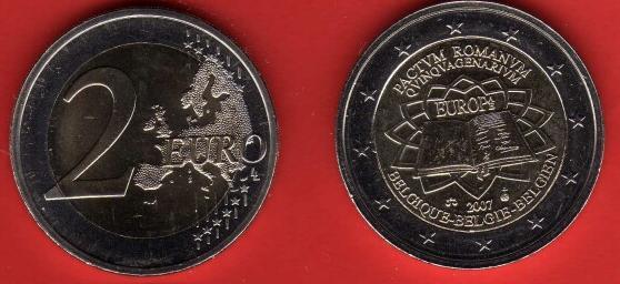 Belgio 2 Euro Commemorativa 2007