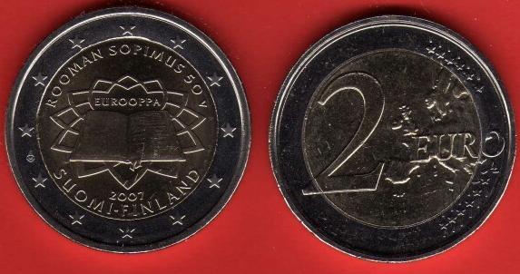 Finlandia 2 Euro Commemorativa 2007
