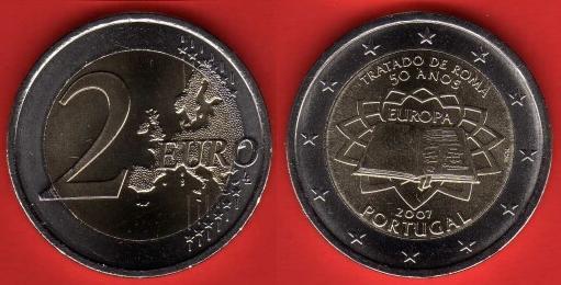 Portogallo 2 Euro Commemorativa 2007