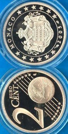 Principato di Monaco 2 cent