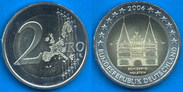 Germania 2 Euro Commemorativa 2006