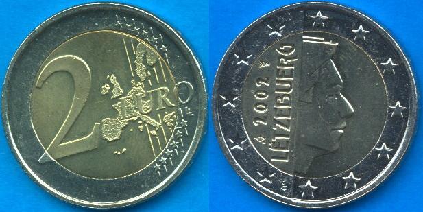 Lussemburgo 2 Euro