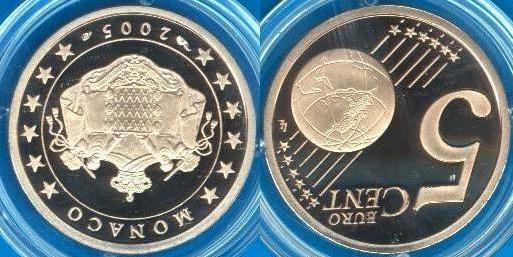 Principato di Monaco 5 cent