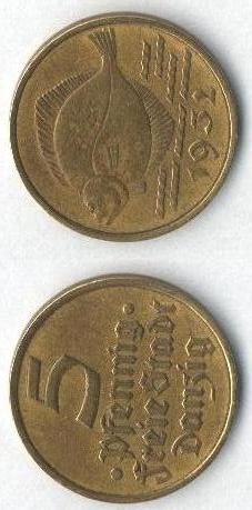 5 pfennig 1932