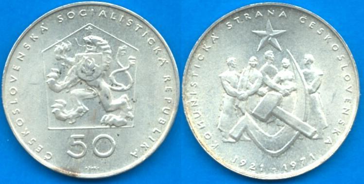 Repubblica Socialista Cecoslovacca (1960 - 1990) 50 Korun 1971