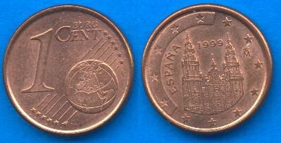 Spagna 1 cent