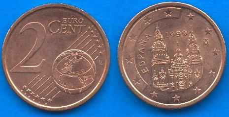 Spagna 2 cent