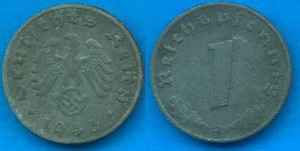 1 Pfennig Terzo reich (1940 - 1945)