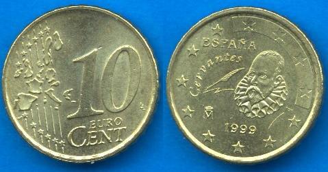 Spagna 10 cent
