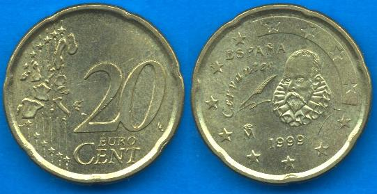 Spagna 20 cent