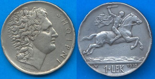 Albania 1 Lek (1926-1931)