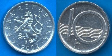 Repubblica Ceca (1993-....) 10 Heller