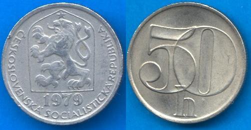 Repubblica Socialista Cecoslovacca (1960 - 1990) 50 Heller 1978 - 1990
