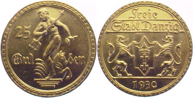 25 Gulden 1930