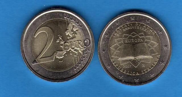Italia 2 Euro commemorativa 2007