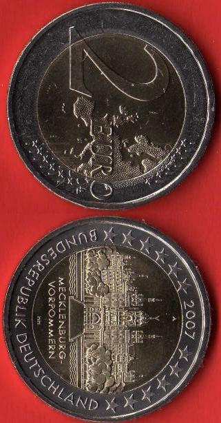 Germania 2 Euro Commemorativa 2007