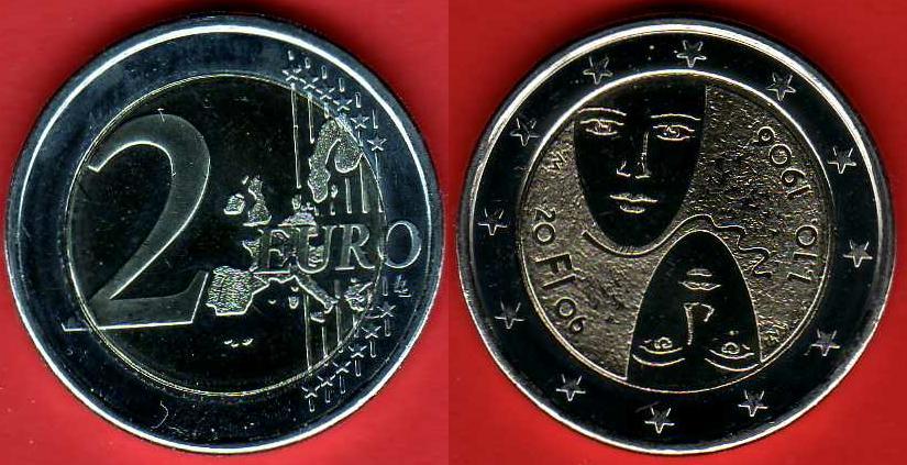 2 Euro Commemorativo 2006 Finlandia