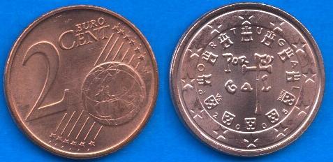 Portogallo 2 cent