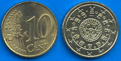Portogallo 10 cent