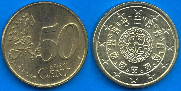 Portogallo 50 cent