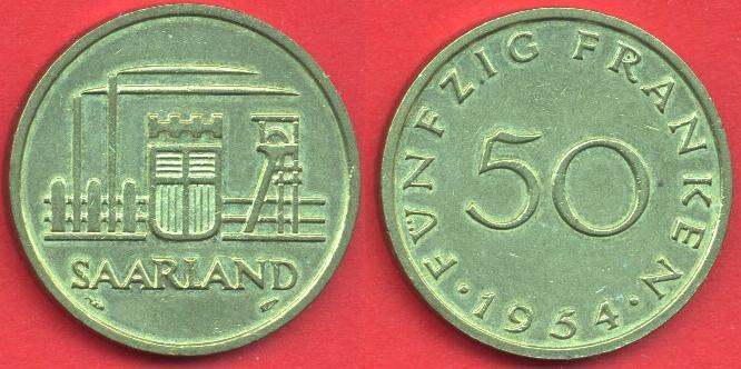 Saarland 50 Franken