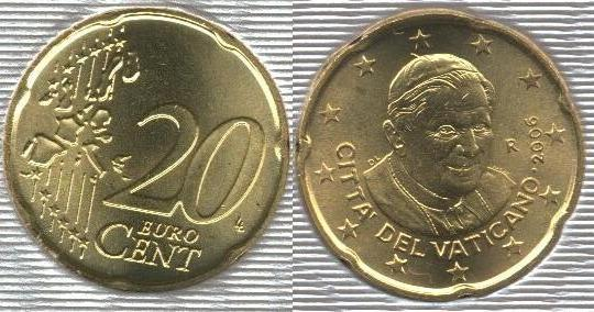 Vaticano 20 cent (2006 - ....)