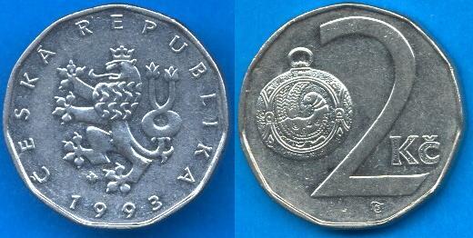 Repubblica Ceca (1993-....) 2 Korun