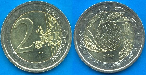 Italia 2 Euro Commemorativo 2004