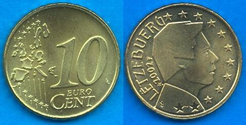 Lussemburgo 10 cent