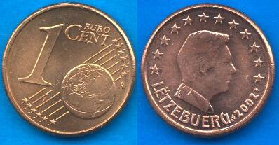 Lussemburgo 1 cent