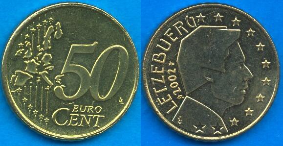 Lussemburgo 50 cent