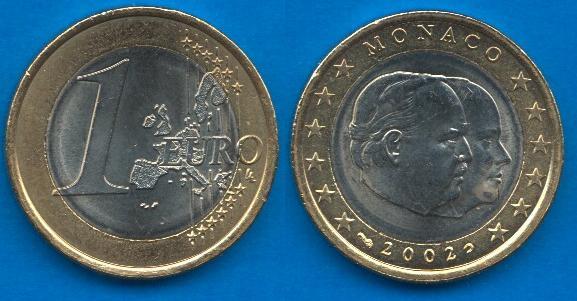 Principato di Monaco 1 Euro