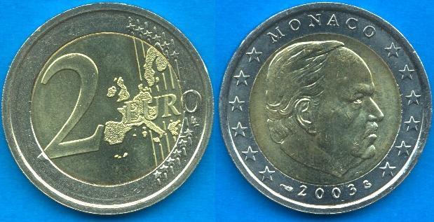 Principato di Monaco 2 Euro