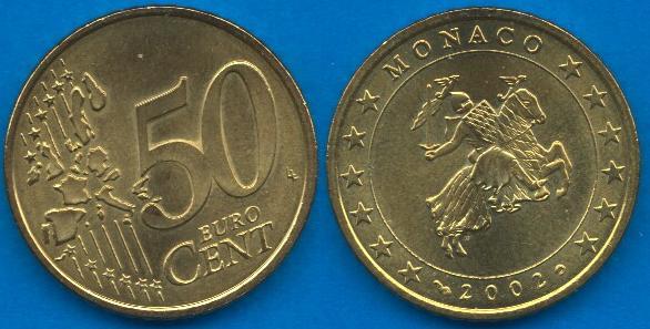 Principato di Monaco 50 cent