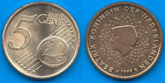 Paesi Bassi 5 cent