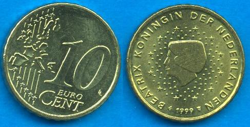 Paesi Bassi 10 cent