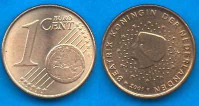 Paesi Bassi 1 cent