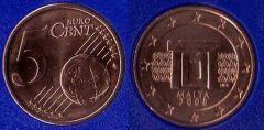 Malta 5 cent 2008 - ....