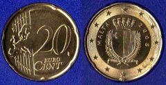 Malta 20 cent 2008 - ....