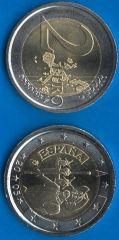 Spagna 2 Euro commemorativa 2005