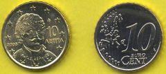 Grecia 10 cent