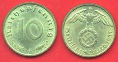 10 Pfennig Terzo Reich
